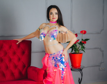 Being an In-Home Belly Dancer